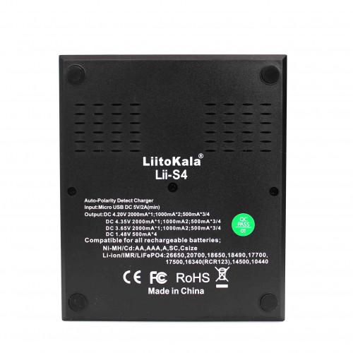 Зарядное устройство Liitokala «Lii-S4»